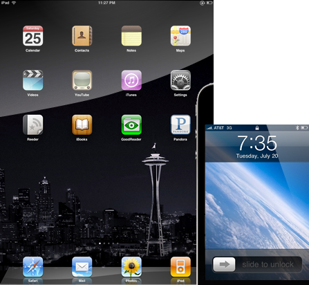 iPad and iPhone wallpapers from Neos